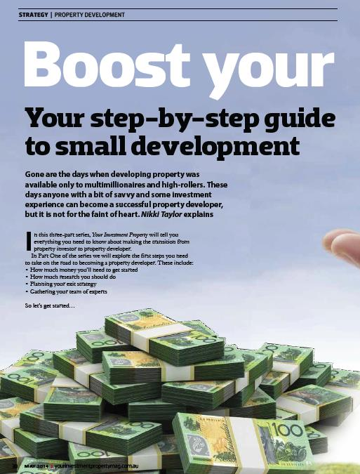 Step by step guide to small property development: YIP magazine